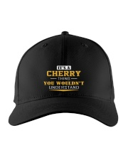 CHERRY - Thing You Wouldnt Understand Embroidered Hat front