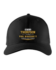 THOMPSON - Thing You Wouldn't Understand Embroidered Hat front