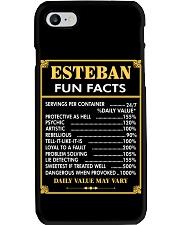 Esteban fun facts Phone Case thumbnail
