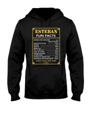 Esteban fun facts Hooded Sweatshirt thumbnail