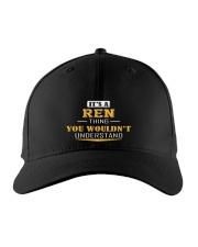 REN - THING YOU WOULDNT UNDERSTAND Embroidered Hat front