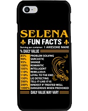 Selena Fun Facts Phone Case thumbnail