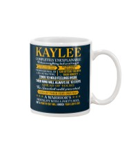 KAYLEE - COMPLETELY UNEXPLAINABLE Mug tile