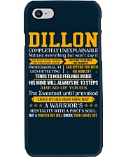 Dillon - Completely Unexplainable Phone Case thumbnail