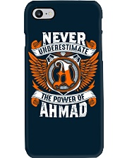 NEVER UNDERESTIMATE THE POWER OF AHMAD Phone Case thumbnail