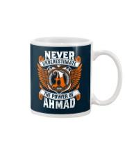 NEVER UNDERESTIMATE THE POWER OF AHMAD Mug thumbnail