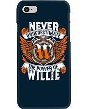 NEVER UNDERESTIMATE THE POWER OF WILLIE Phone Case thumbnail