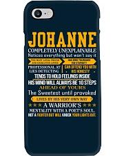 Johanne - Completely Unexplainable Phone Case thumbnail