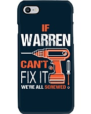 If Warren Cant Fix It - We Are All Screwed Phone Case thumbnail