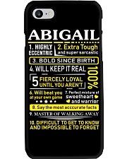 Abigail - Sweet Heart And Warrior Phone Case thumbnail