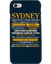 SYDNEY - COMPLETELY UNEXPLAINABLE Phone Case thumbnail
