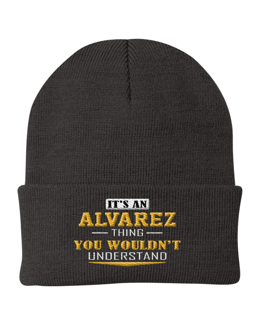 ALVAREZ - Thing You Wouldnt Understand Knit Beanie