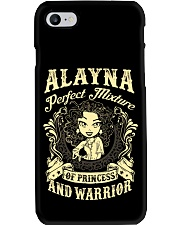 PRINCESS AND WARRIOR - Alayna Phone Case thumbnail