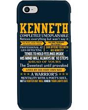 Kenneth - Completely Unexplainable Phone Case thumbnail