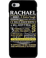 Rachael - Sweet Heart And Warrior Phone Case thumbnail