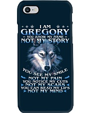 Gregory - You dont know my story Phone Case thumbnail