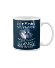 Gregory - You dont know my story Mug thumbnail