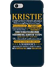 KRISTIE - COMPLETELY UNEXPLAINABLE Phone Case thumbnail