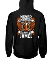 NEVER UNDERESTIMATE THE POWER OF JAMEL Hooded Sweatshirt thumbnail