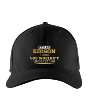 EDISON - THING YOU WOULDNT UNDERSTAND Embroidered Hat front