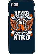 NEVER UNDERESTIMATE THE POWER OF NIKO Phone Case thumbnail