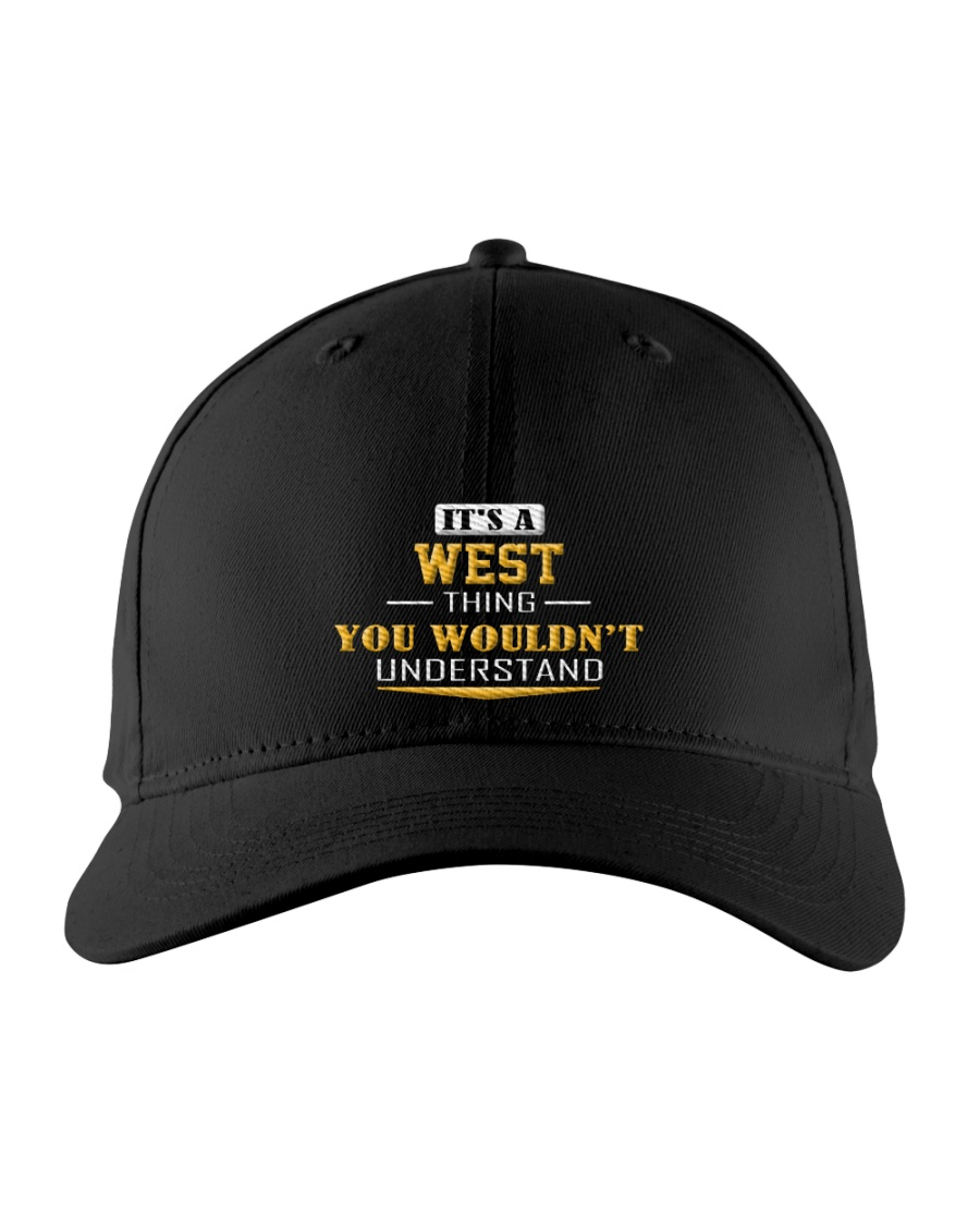 WEST - Thing You 'Wouldn-t Understand Embroidered Hat