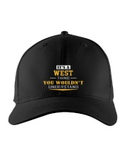 WEST - Thing You 'Wouldn-t Understand Embroidered Hat front