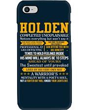 Holden - Completely Unexplainable Phone Case thumbnail