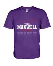 MAXWELL - Team DS02 V-Neck T-Shirt thumbnail