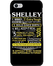 Shelley - Sweet Heart And Warrior Phone Case thumbnail