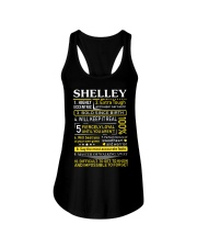 Shelley - Sweet Heart And Warrior Ladies Flowy Tank thumbnail