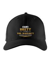 BRETT - THING YOU WOULDNT UNDERSTAND Embroidered Hat front