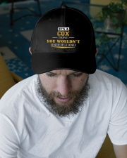 COX - Thing You Wouldnt Understand Embroidered Hat garment-embroidery-hat-lifestyle-06