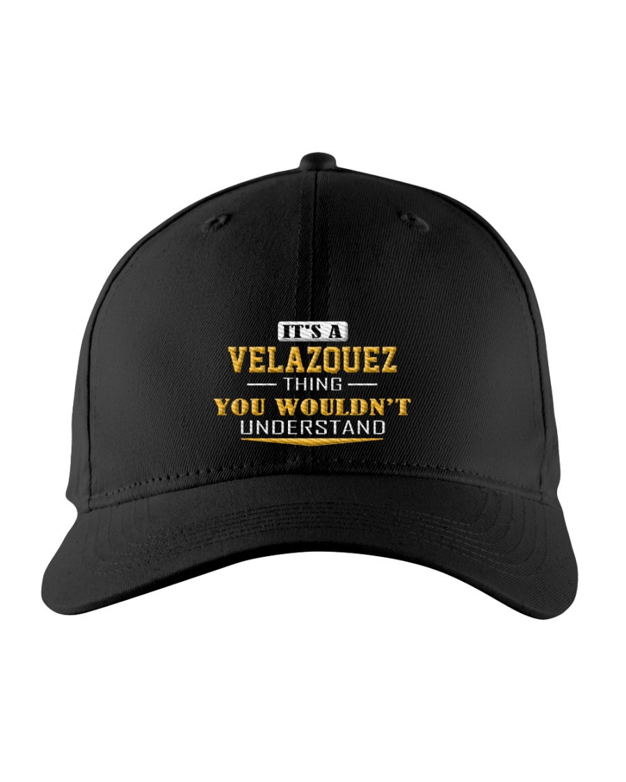 VELAZQUEZ - Thing You Wouldnt Understand Embroidered Hat
