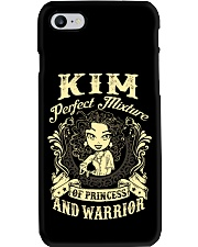 PRINCESS AND WARRIOR - KIM Phone Case tile