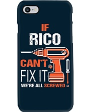 If Rico Cant Fix It - We Are All Screwed Phone Case thumbnail