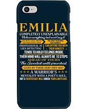 EMILIA - COMPLETELY UNEXPLAINABLE Phone Case thumbnail