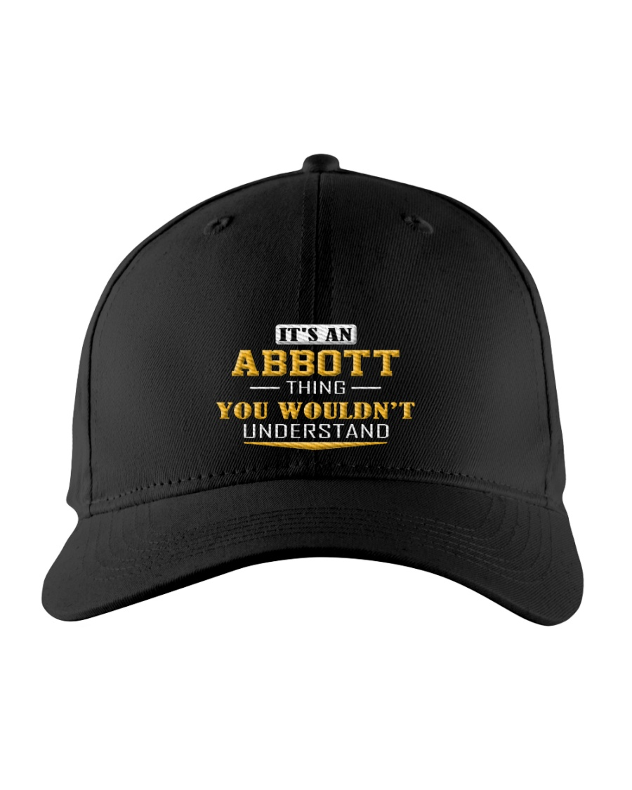 ABBOTT - Thing You Wouldnt Understand Embroidered Hat
