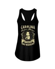 PRINCESS AND WARRIOR - CAROLINA Ladies Flowy Tank thumbnail