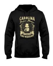 PRINCESS AND WARRIOR - CAROLINA Hooded Sweatshirt thumbnail