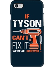 If Tyson Cant Fix It - We Are All Screwed Phone Case thumbnail