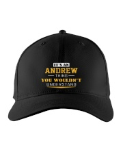 ANDREW- THING YOU WOULDNT UNDERSTAND Embroidered Hat front