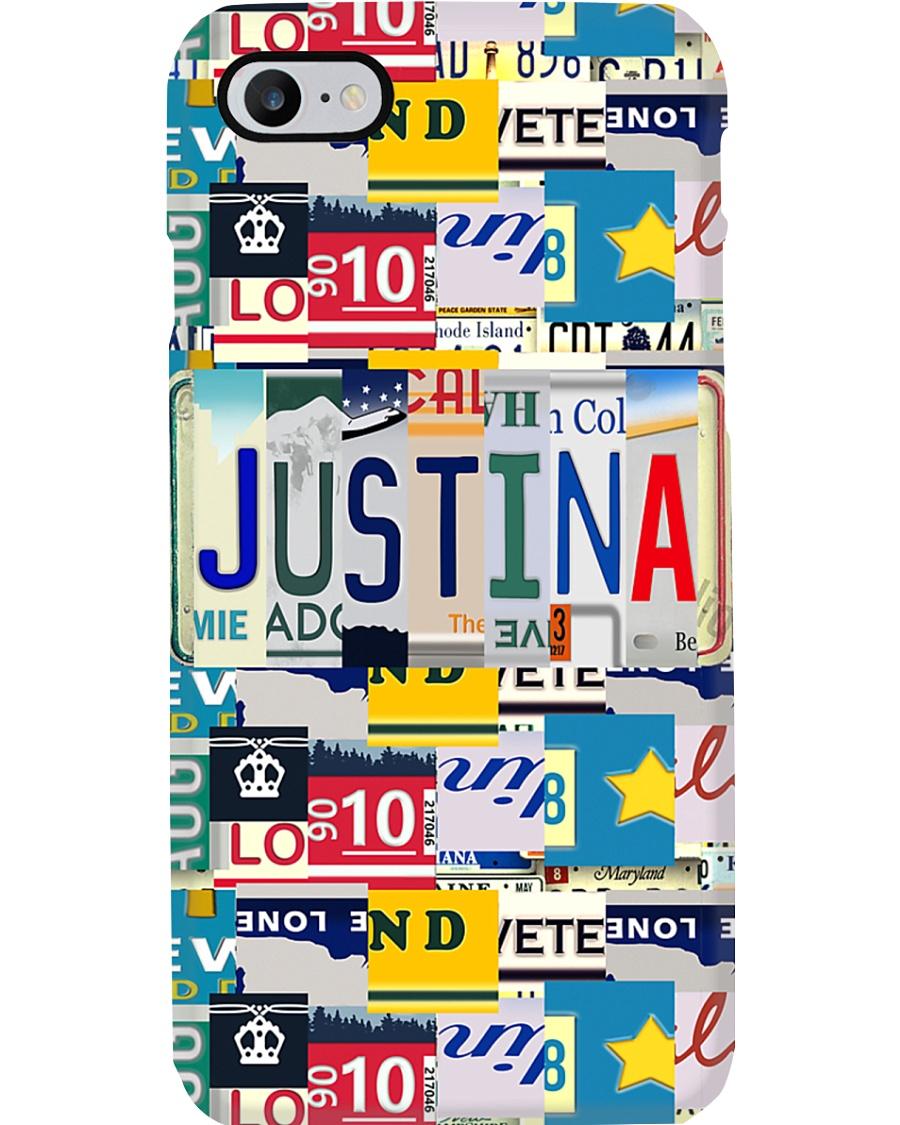 Justina - Vintage Style Phone Case
