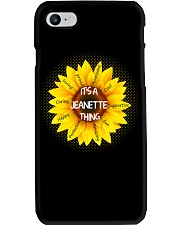 Its a Jeanette thing Phone Case thumbnail