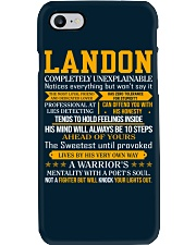 Landon - Completely Unexplainable Phone Case thumbnail