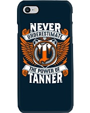 NEVER UNDERESTIMATE THE POWER OF TANNER Phone Case thumbnail