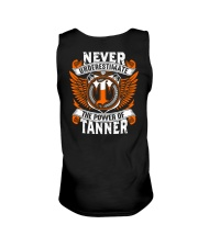 NEVER UNDERESTIMATE THE POWER OF TANNER Unisex Tank thumbnail