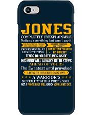 Jones - Completely Unexplainable Phone Case thumbnail