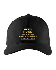 EVAN - THING YOU WOULDNT UNDERSTAND Embroidered Hat front