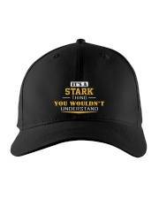 STARK - Thing You Wouldnt Understand Embroidered Hat front